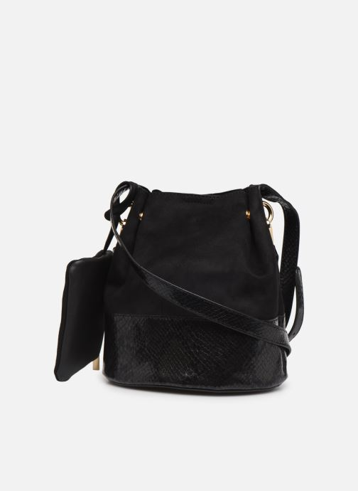 Handbags I Love Shoes BAFIL Black view from the right
