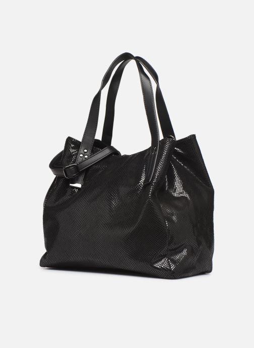 Handtaschen I Love Shoes BAKOI schwarz schuhe getragen