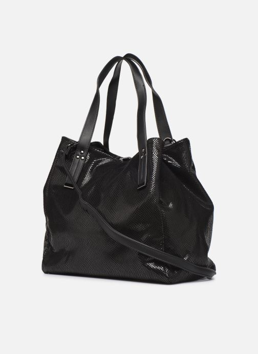 Handbags I Love Shoes BAKOI Black view from the right