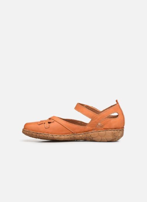 Sandales et nu-pieds Josef Seibel Rosalie 41 Orange vue face