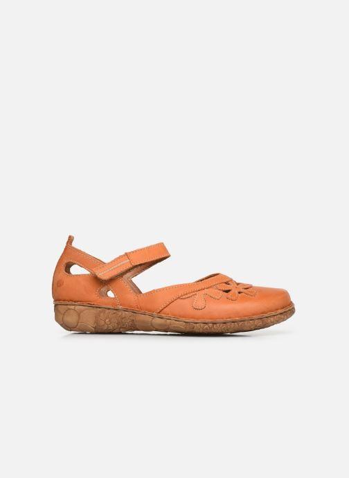 Sandales et nu-pieds Josef Seibel Rosalie 41 Orange vue derrière