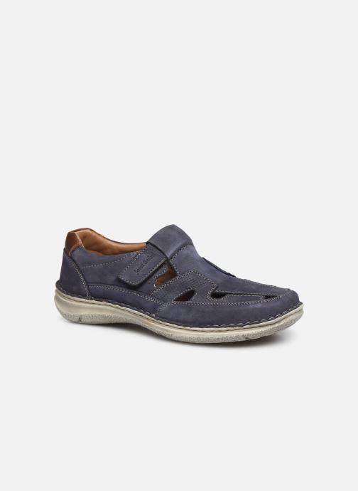 Sko med velcro Josef Seibel Anvers 81 Blå detaljeret billede af skoene