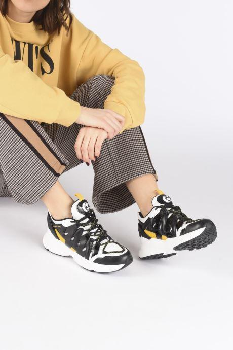 Baskets Michael Michael Kors Hero Trainer Noir vue bas / vue portée sac