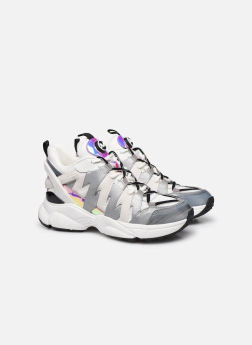 Sneakers Michael Michael Kors Hero Trainer Bianco immagine 3/4