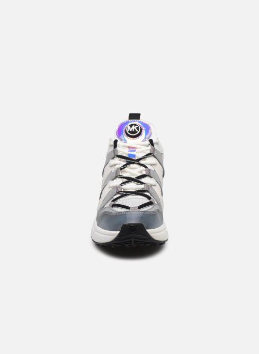 Sneakers Michael Michael Kors Hero Trainer Bianco modello indossato