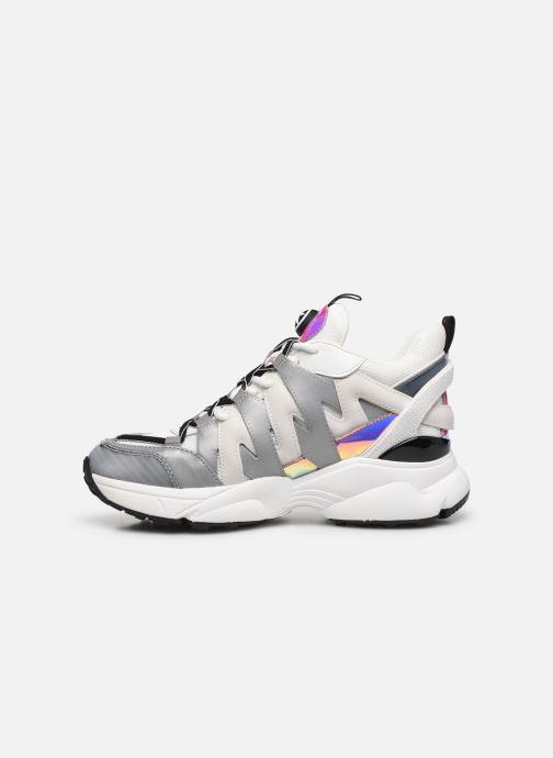 Sneakers Michael Michael Kors Hero Trainer Bianco immagine frontale