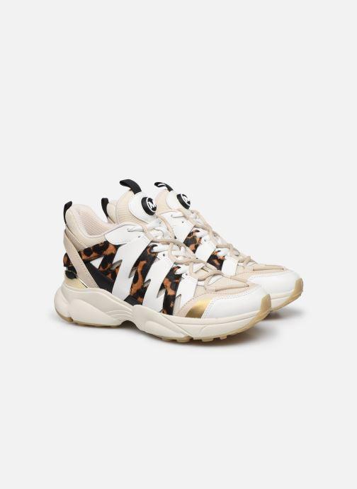 Sneakers Michael Michael Kors Hero Trainer Beige immagine 3/4