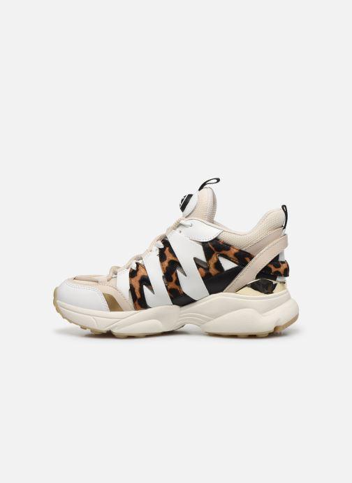 Sneakers Michael Michael Kors Hero Trainer Beige immagine frontale