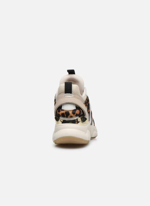 Sneakers Michael Michael Kors Hero Trainer Beige immagine destra