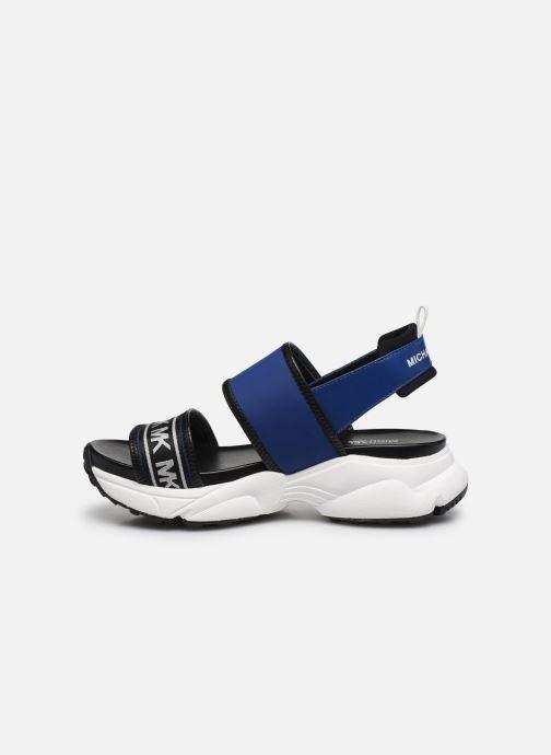 Sandali e scarpe aperte Michael Michael Kors Rooney Sandal Azzurro immagine frontale