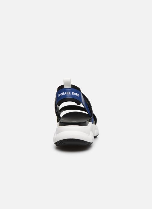 Sandalias Michael Michael Kors Rooney Sandal Azul vista lateral derecha
