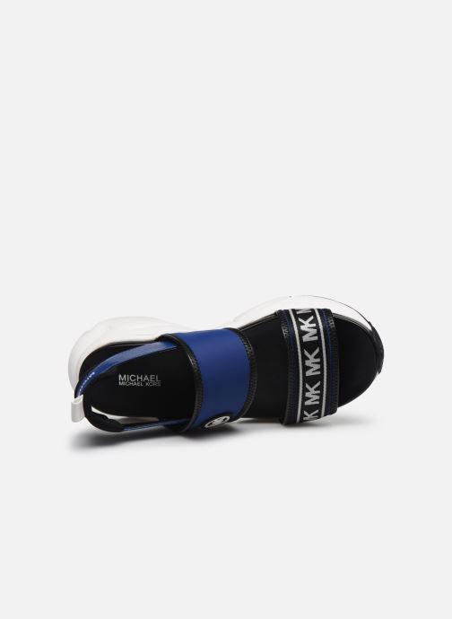 Sandali e scarpe aperte Michael Michael Kors Rooney Sandal Azzurro immagine sinistra
