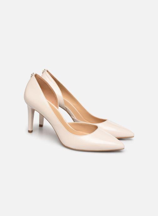 Zapatos de tacón Michael Michael Kors Dorothy Flex Dorsay Blanco vista 3/4