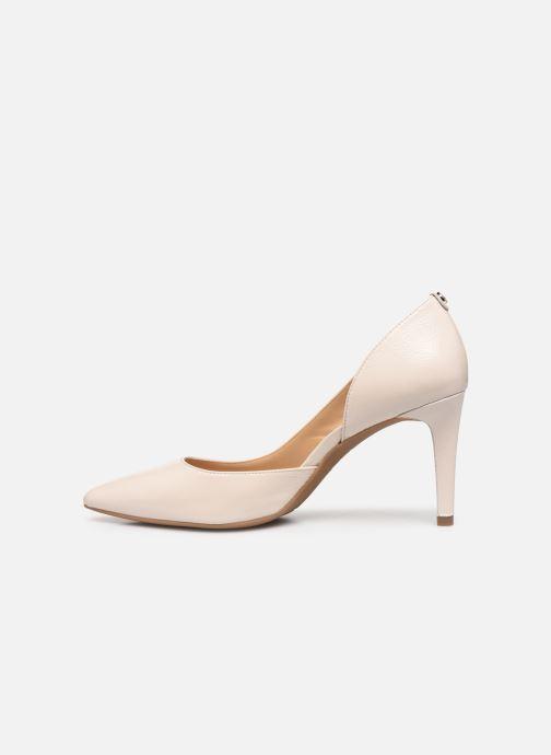 Zapatos de tacón Michael Michael Kors Dorothy Flex Dorsay Blanco vista de frente