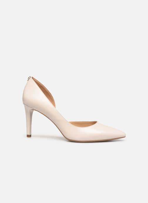 Zapatos de tacón Michael Michael Kors Dorothy Flex Dorsay Blanco vistra trasera