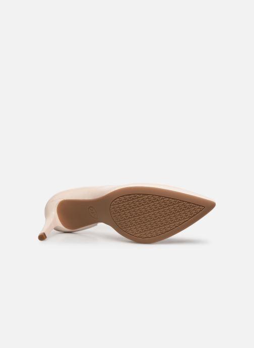 Zapatos de tacón Michael Michael Kors Dorothy Flex Dorsay Blanco vista de arriba