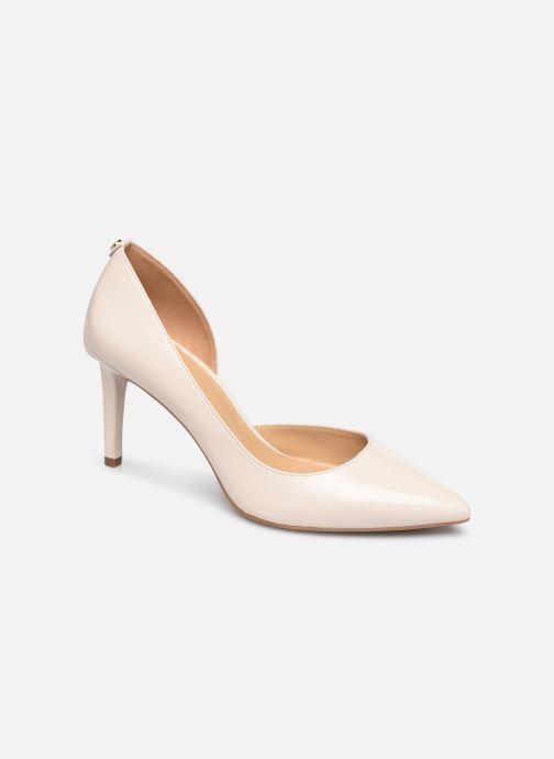Zapatos de tacón Michael Michael Kors Dorothy Flex Dorsay Blanco vista de detalle / par