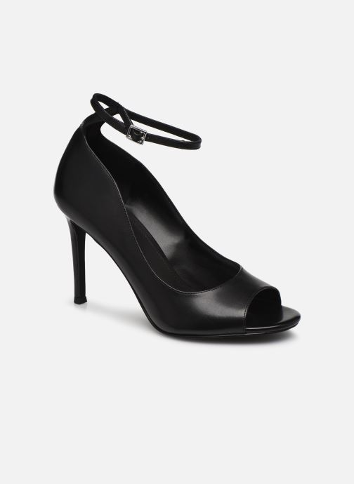 Zapatos de tacón Michael Michael Kors Danielle Open Toe Negro vista de detalle / par
