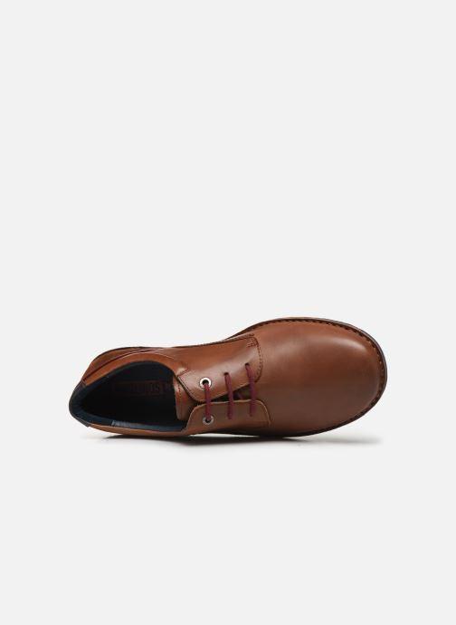 Chaussures à lacets Pikolinos Santiago - M7B-4237 Marron vue gauche