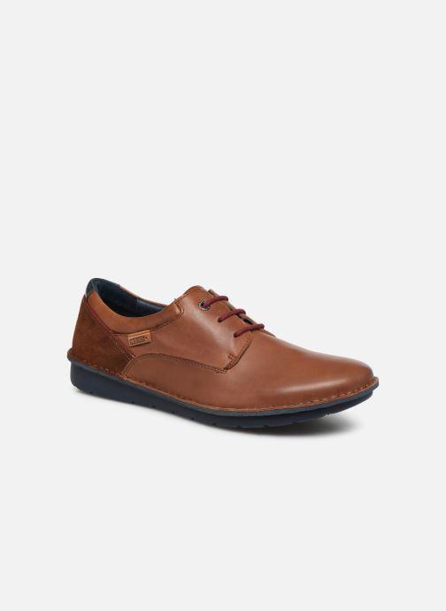 Chaussures à lacets Pikolinos Santiago - M7B-4237 Marron vue détail/paire
