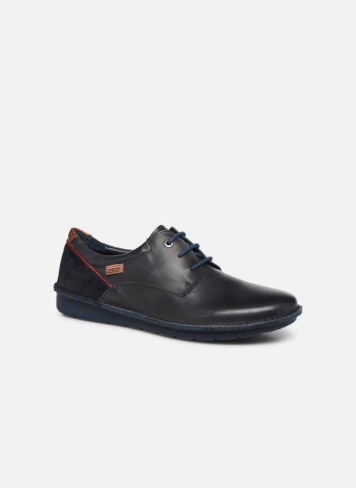 Chaussures à lacets Pikolinos Santiago - M7B-4237 Bleu vue détail/paire