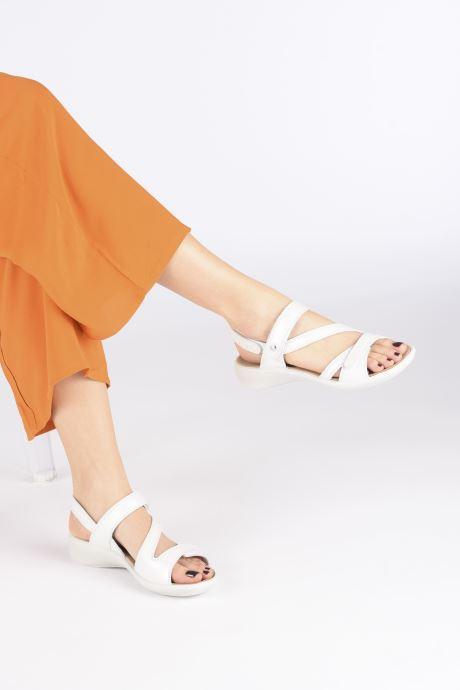 Sandales et nu-pieds Westland Ibiza 105 Blanc vue bas / vue portée sac