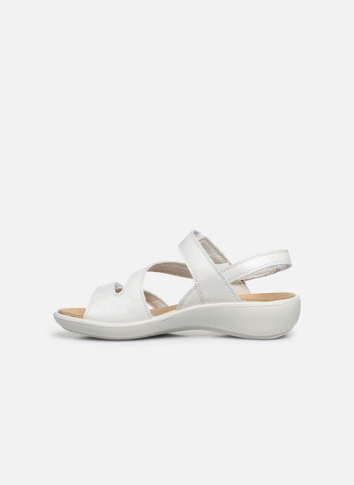 Sandales et nu-pieds Westland Ibiza 105 Blanc vue face
