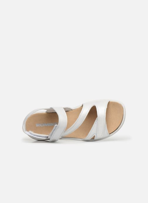 Sandales et nu-pieds Westland Ibiza 105 Blanc vue gauche