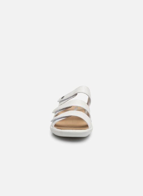 Mules et sabots Romika Ibiza 106 Blanc vue portées chaussures