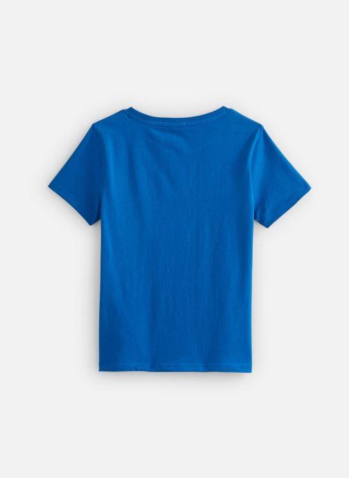 Vêtements Billybandit Tee-shirt V25556 Bleu vue bas / vue portée sac