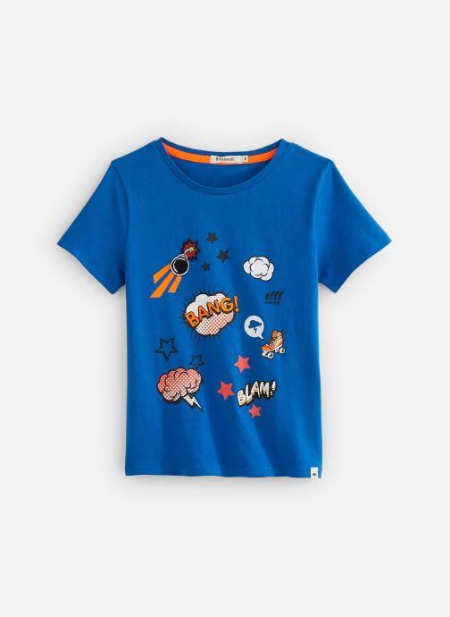 Vêtements Billybandit Tee-shirt V25556 Bleu vue détail/paire