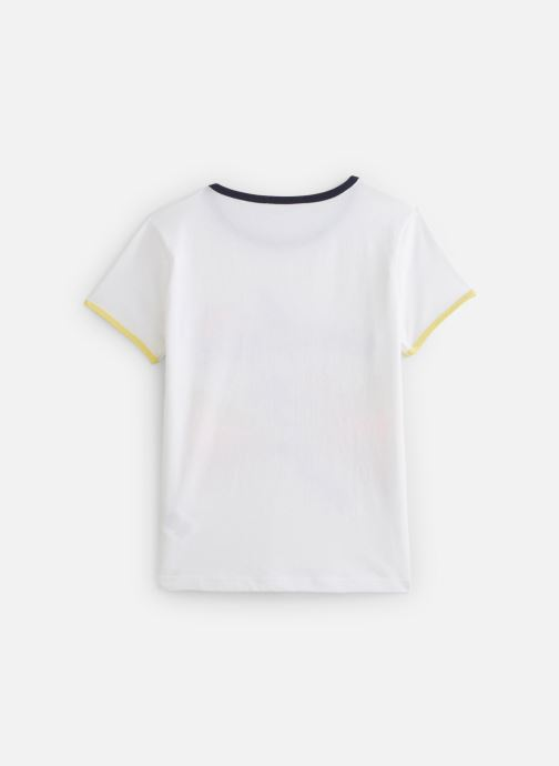 Vêtements Billybandit Tee-shirt V25534 Blanc vue bas / vue portée sac