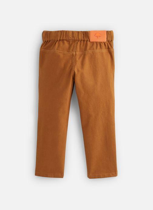 Vêtements Billybandit Pantalon V24246 Marron vue bas / vue portée sac