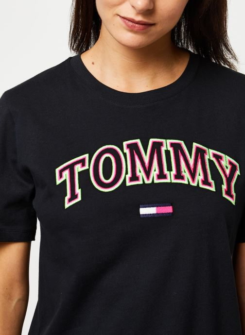 Tommy Jeans Tjw Fitted Sleeve Detail Sweater Shirt Femme