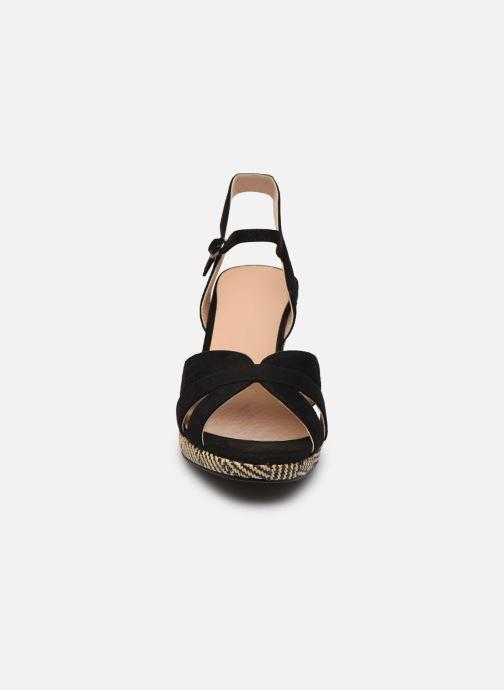 Sandales et nu-pieds I Love Shoes DIMANI Noir vue portées chaussures