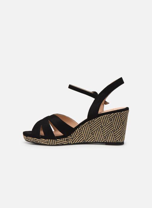 Sandales et nu-pieds I Love Shoes DIMANI Noir vue face