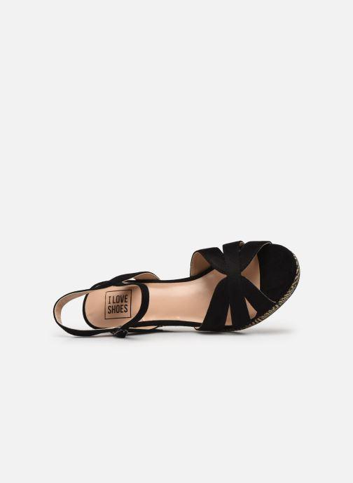 Sandales et nu-pieds I Love Shoes DIMANI Noir vue gauche