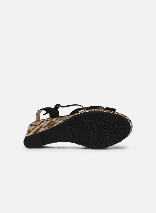 Sandales et nu-pieds I Love Shoes DIMANI Noir vue haut