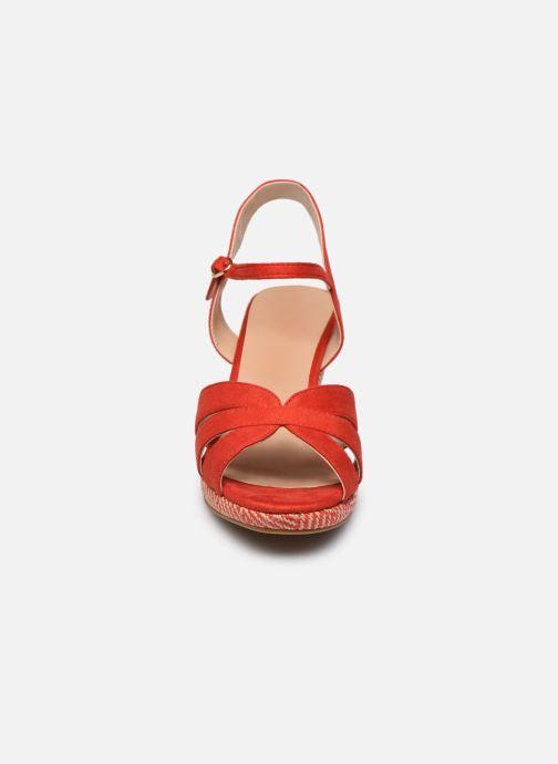 Sandali e scarpe aperte I Love Shoes DIMANI Arancione modello indossato