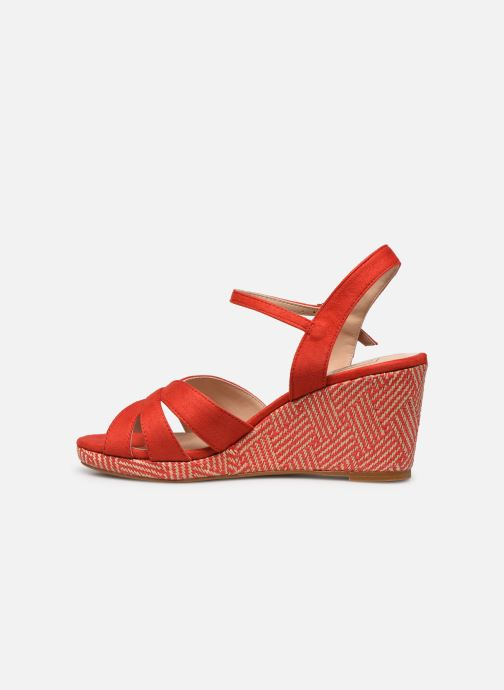 Sandales et nu-pieds I Love Shoes DIMANI Orange vue face
