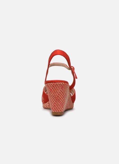 Sandalen I Love Shoes DIMANI orange ansicht von rechts