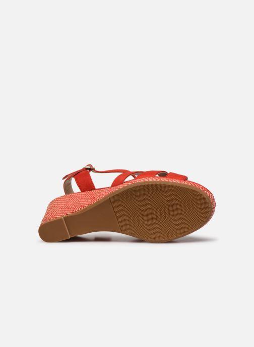 Sandalen I Love Shoes DIMANI orange ansicht von oben