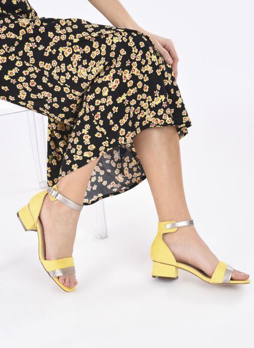 Sandali e scarpe aperte I Love Shoes DIBELLO Giallo immagine dal basso