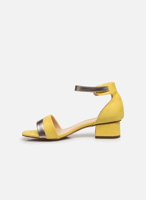 Sandalen I Love Shoes DIBELLO Geel voorkant