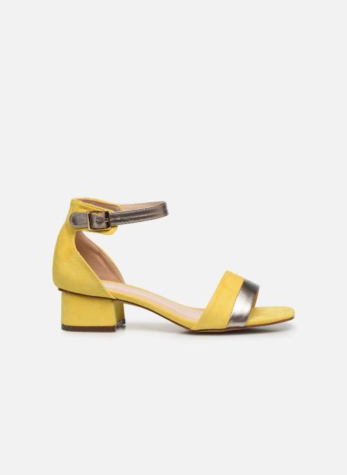 Sandales et nu-pieds I Love Shoes DIBELLO Jaune vue derrière