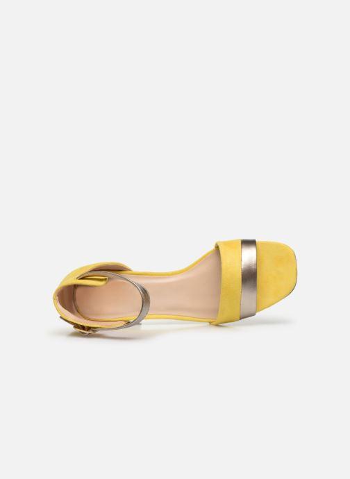 Sandales et nu-pieds I Love Shoes DIBELLO Jaune vue gauche