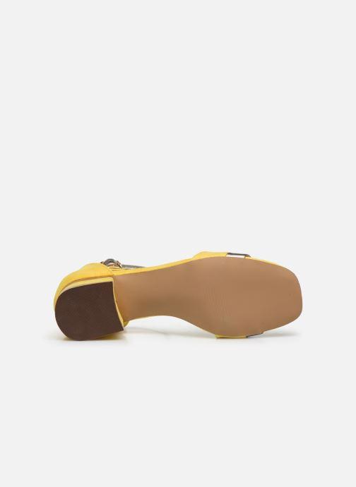 Sandales et nu-pieds I Love Shoes DIBELLO Jaune vue haut