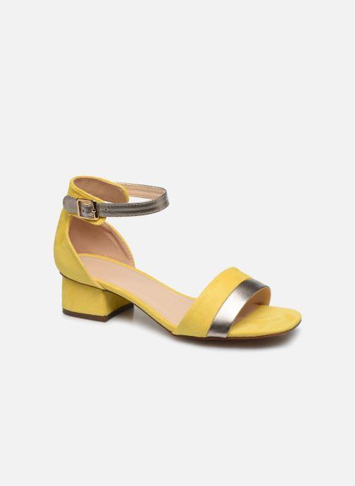 Sandales et nu-pieds I Love Shoes DIBELLO Jaune vue détail/paire