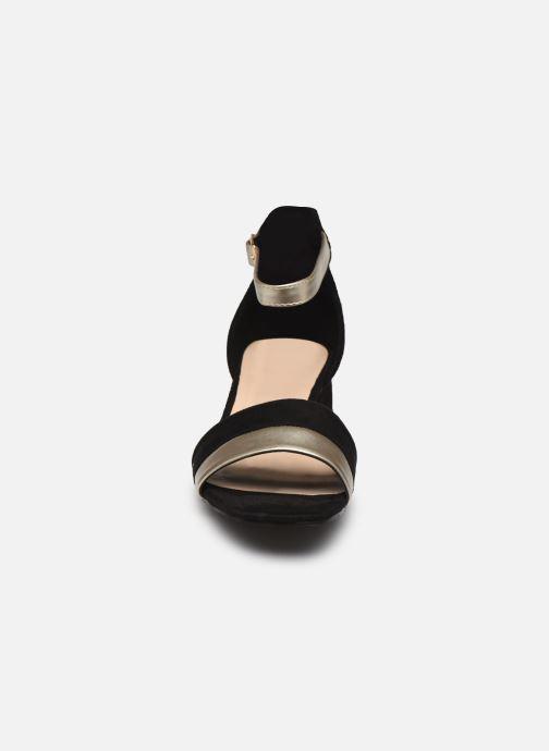 Sandales et nu-pieds I Love Shoes DIBELLO Noir vue portées chaussures