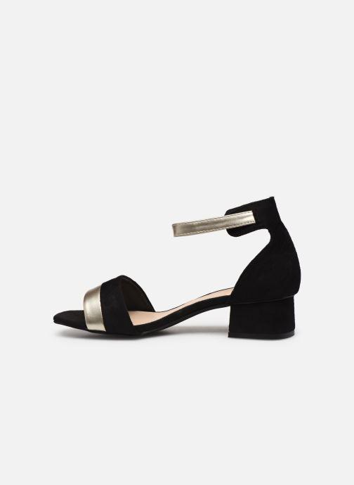 Sandales et nu-pieds I Love Shoes DIBELLO Noir vue face